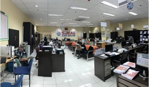 phòng quản lý học viên của trường smeag