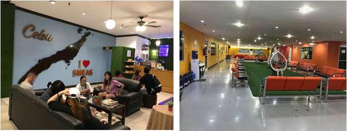 phòng tự học và cafeteria tại smeag capital campus