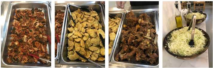 Món ăn tại smeag campus capital
