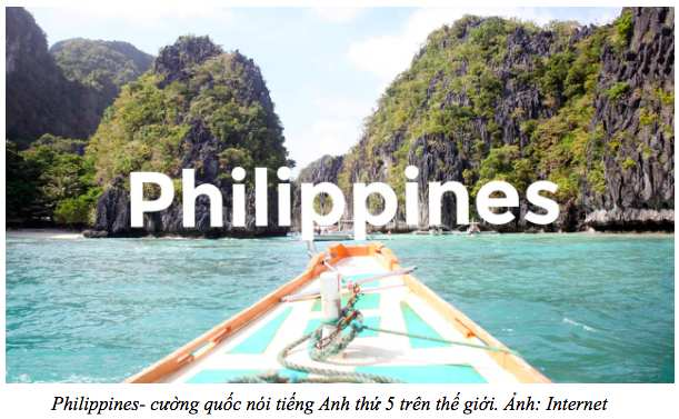 tiếng Anh của người Philippines là cường quốc thứ 05 thế giới