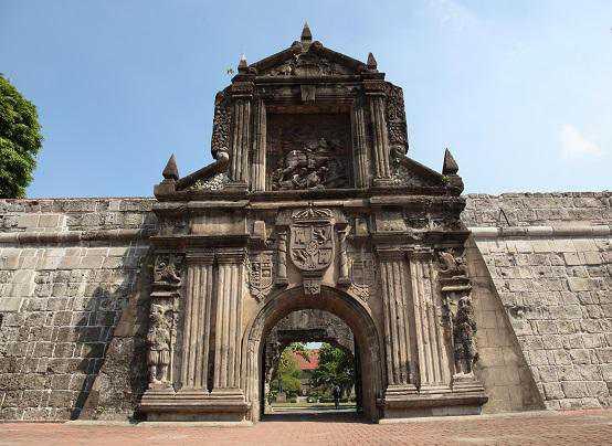 Manila các địa điểm ưa thích pháo đài Fort santiago
