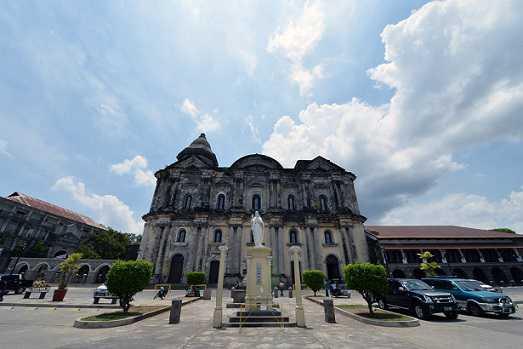 Manila các địa điểm ưa thích Basilica Taal