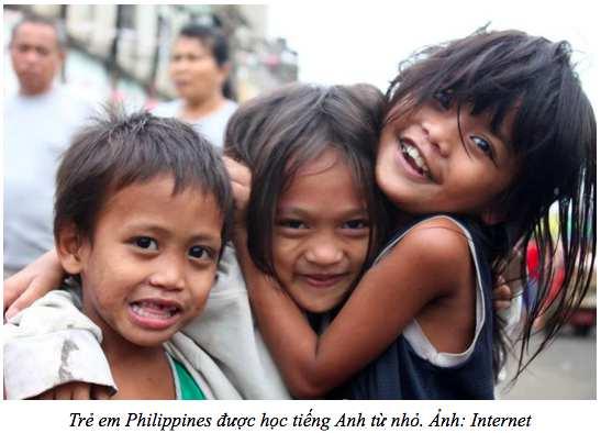 trẻ em Philippines