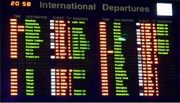 kinh nghiệm du học SMEAG lưu ý tại sân bay