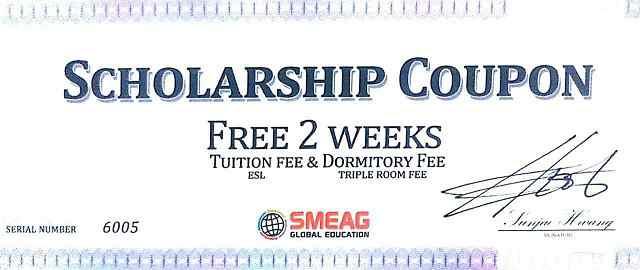 học bổng trường SMEAG