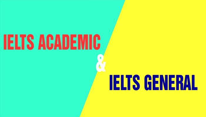 thi IELTS Academic hay General Training